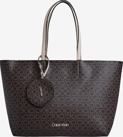 Calvin Klein Shopper in braun / dunkelbraun, Produktansicht