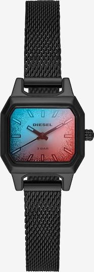 DIESEL Uhr in blau / rot / schwarz, Produktansicht