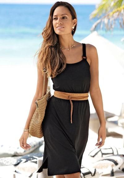LASCANA Plážové šaty - černá, Model/ka