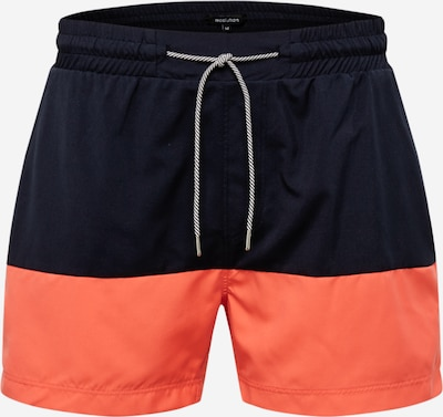 recolution Badehose in navy / orange, Produktansicht