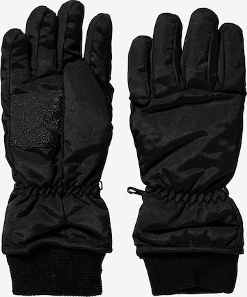 DÖLL Fingerhandschuhe in Schwarz