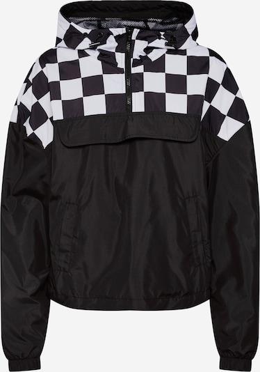 Urban Classics Přechodná bunda - černá / bílá, Produkt
