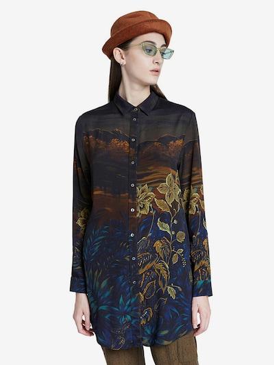Desigual Bluza u miks boja / crna, Prikaz modela