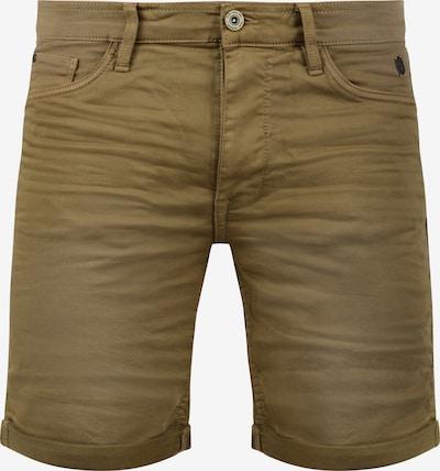 BLEND Jeansshorts 'Diego' in khaki: Frontalansicht