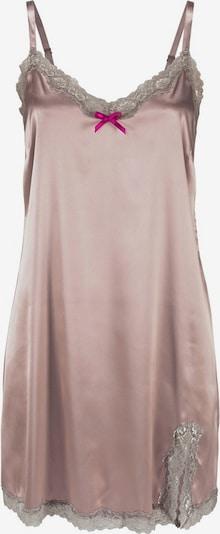 LASCANA Koszula nocna w kolorze różowe złoto / ciemnoszary / stary różm, Podgląd produktu