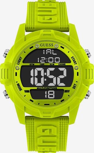GUESS Uhr in grün, Produktansicht