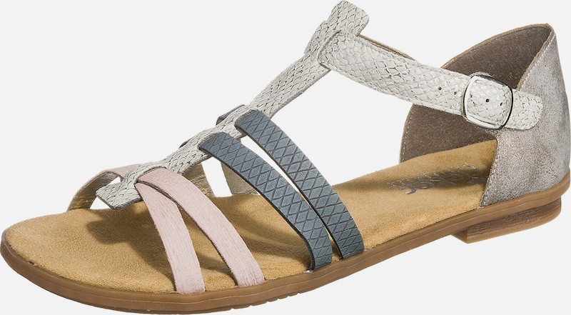 RIEKER Sandale in marine taupe offwhite | ABOUT YOU T8oLC