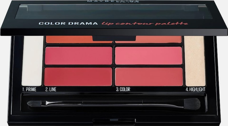 MAYBELLINE New York 'Color Sensational Lip Contour Palette', Lippenstift