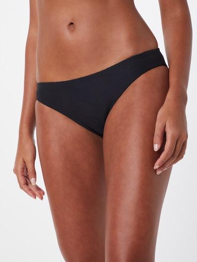 Seafolly Bikinihose 'Hipster' in schwarz: Frontalansicht