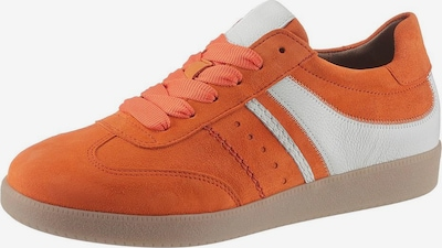 GABOR Sneaker in orange / weiß, Produktansicht