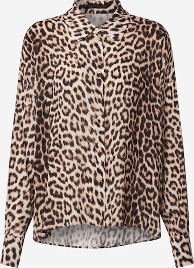 DRYKORN Bluse 'CLOELIA' in braun / schwarz, Produktansicht