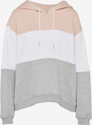 Urban Classics Sweter w kolorze jasnoszary / pudrowy / białym, Podgląd produktu