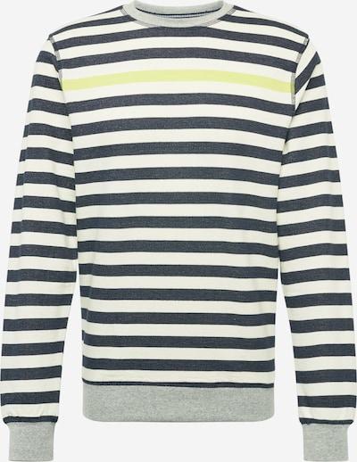 BLEND Sweatshirt in navy / weiß: Frontalansicht