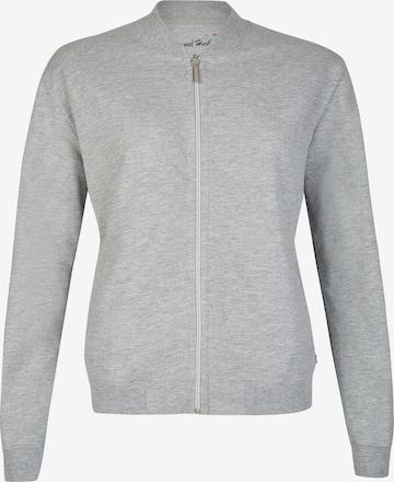 DANIEL HECHTER Zip-Up Hoodie in Grey
