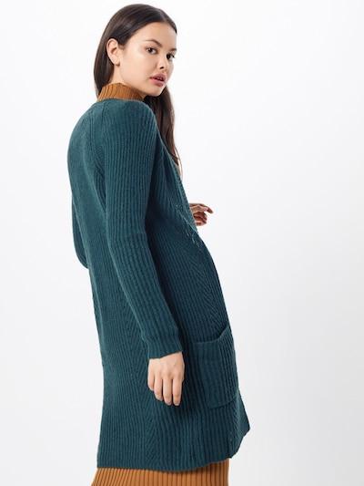 ONLY Manteau en tricot 'BERNICE' en vert: Vue de dos