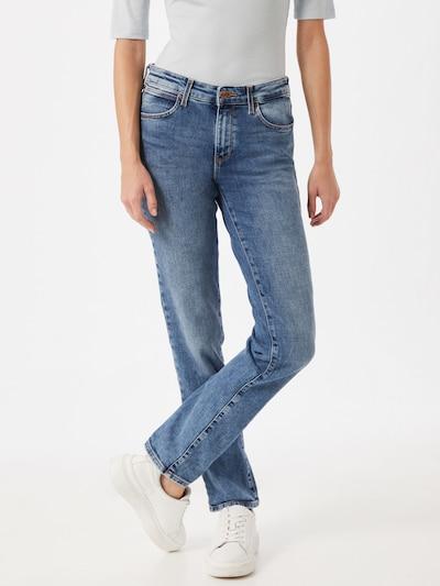 WRANGLER Jeans in blue denim: Frontalansicht