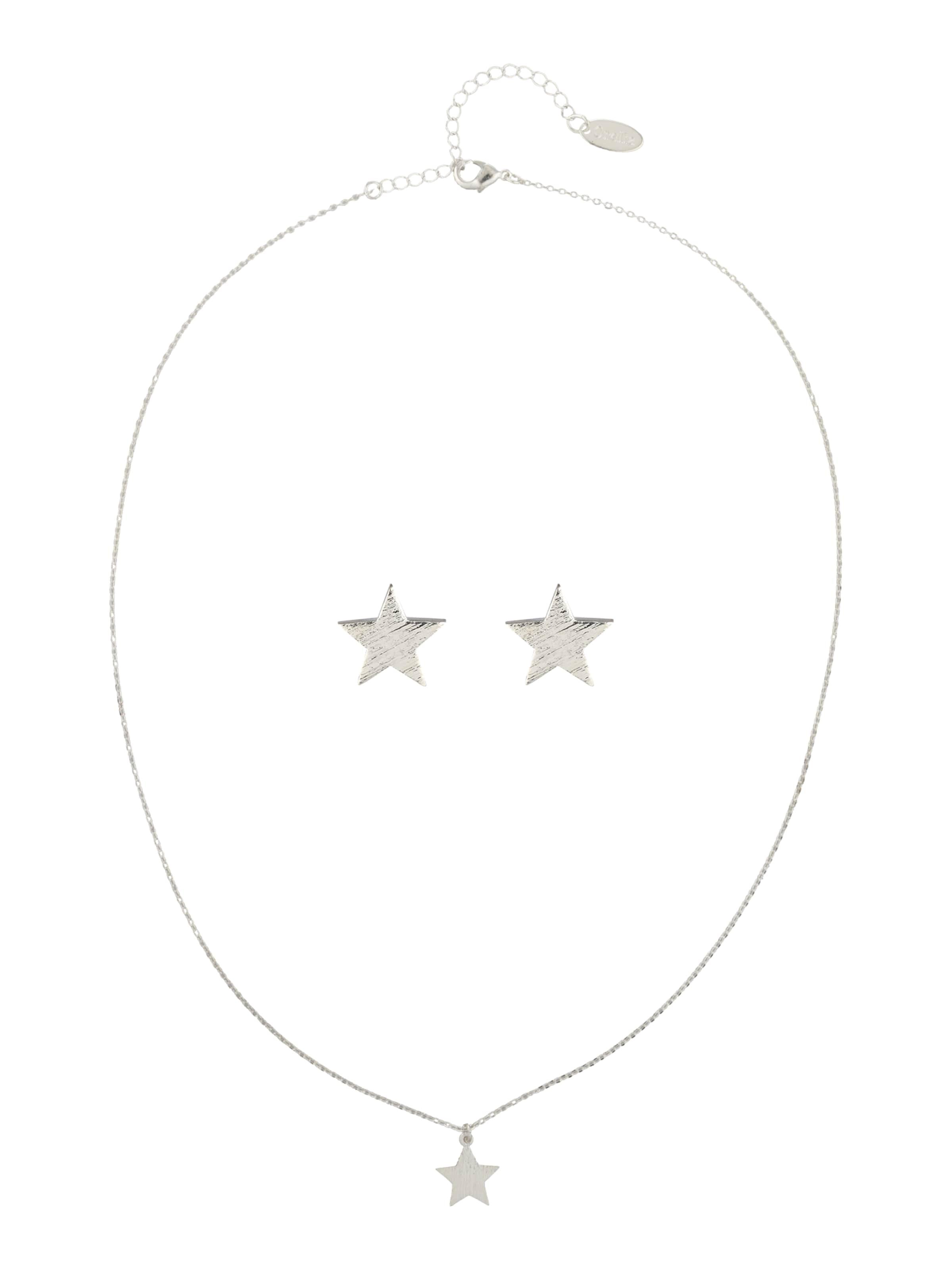 Orelia Schmuck-Set 'Brushed Star Giftbox' Erstaunlicher Preis Verkauf Online 2a6mME