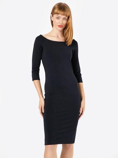 modström Jerseykleid 'Tansy' in schwarz, Modelansicht