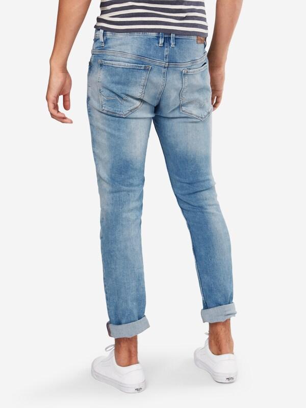 Cut En Jean Pepe Denim Jeans Worn' Bleu 'zinc WHID2YE9