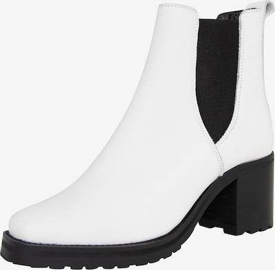 EDITED Chelsea Boots 'Otis' en blanc, Vue avec produit