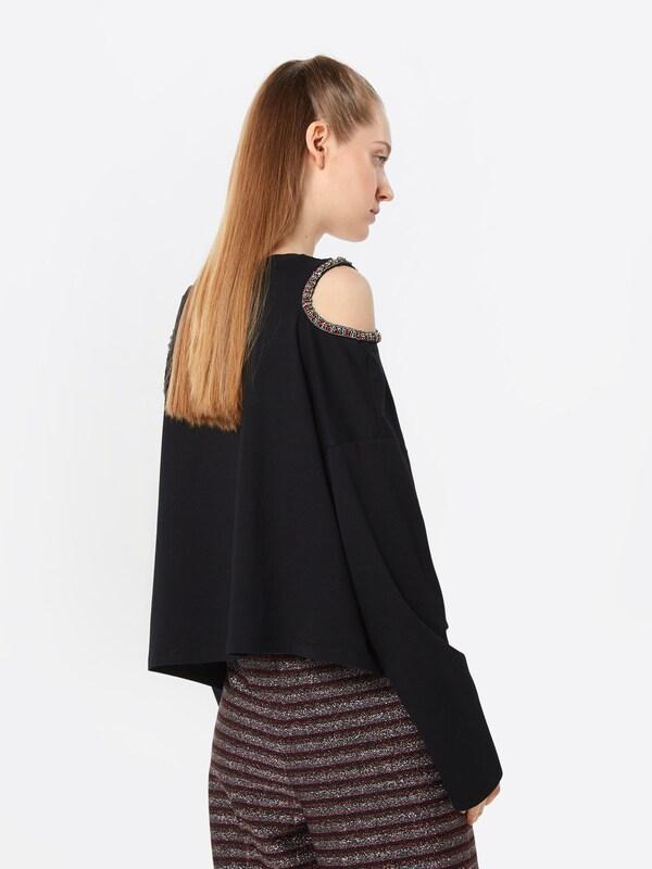 Kooples Noir T shirt The En cuF1TlJ3K5