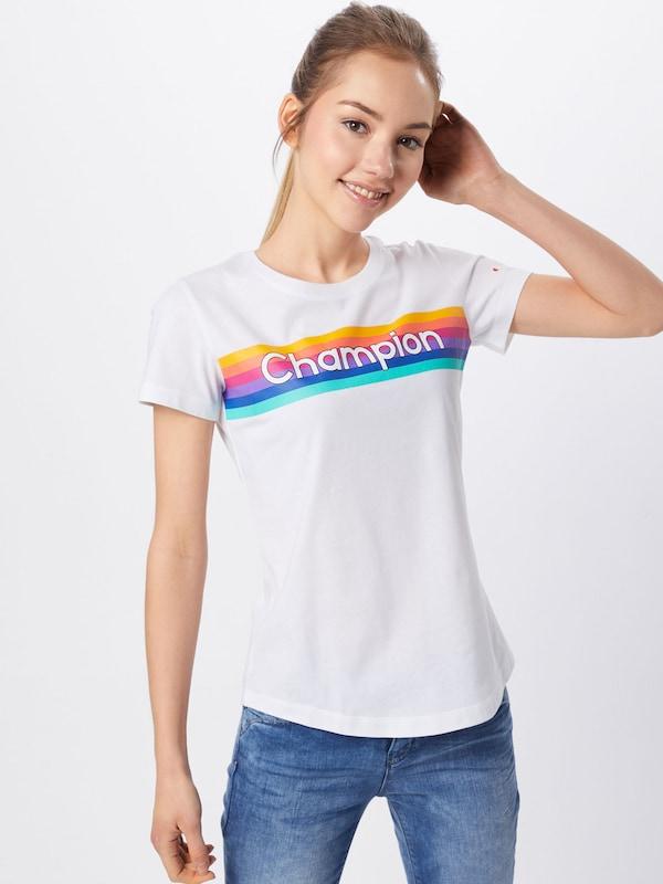 In Authentic Apparel KleurenWit Shirt Champion Athletic Gemengde POXZiuk