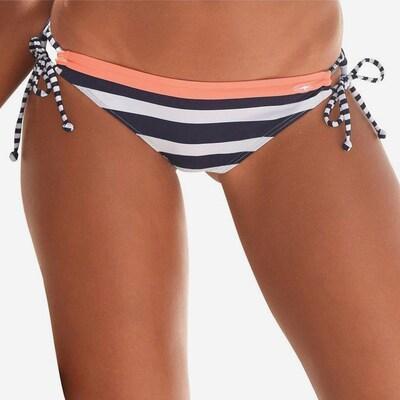 KangaROOS Bikini-Hose in navy / neonpink / weiß, Produktansicht