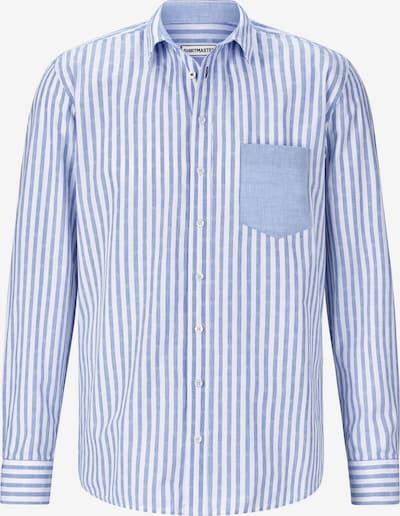 Shirtmaster Chemise en bleu clair / blanc, Vue avec produit