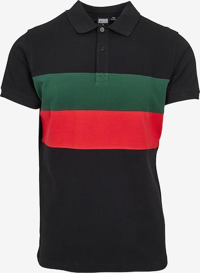 Urban Classics Koszulka w kolorze ciemnozielony / czerwony / czarnym, Podgląd produktu