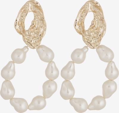 MANGO Boucles d'oreilles 'MANA' en or, Vue avec produit