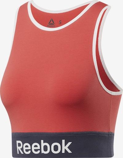 REEBOK Sport bh 'Training Essentials Light-Impact Bralette' in de kleur Nachtblauw / Rood / Wit, Productweergave