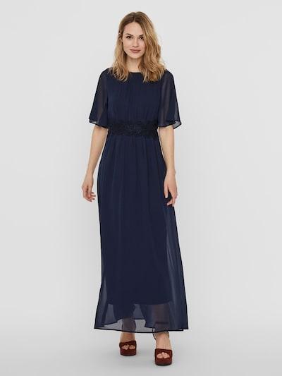 VERO MODA Maxi Kleid in blau: Frontalansicht