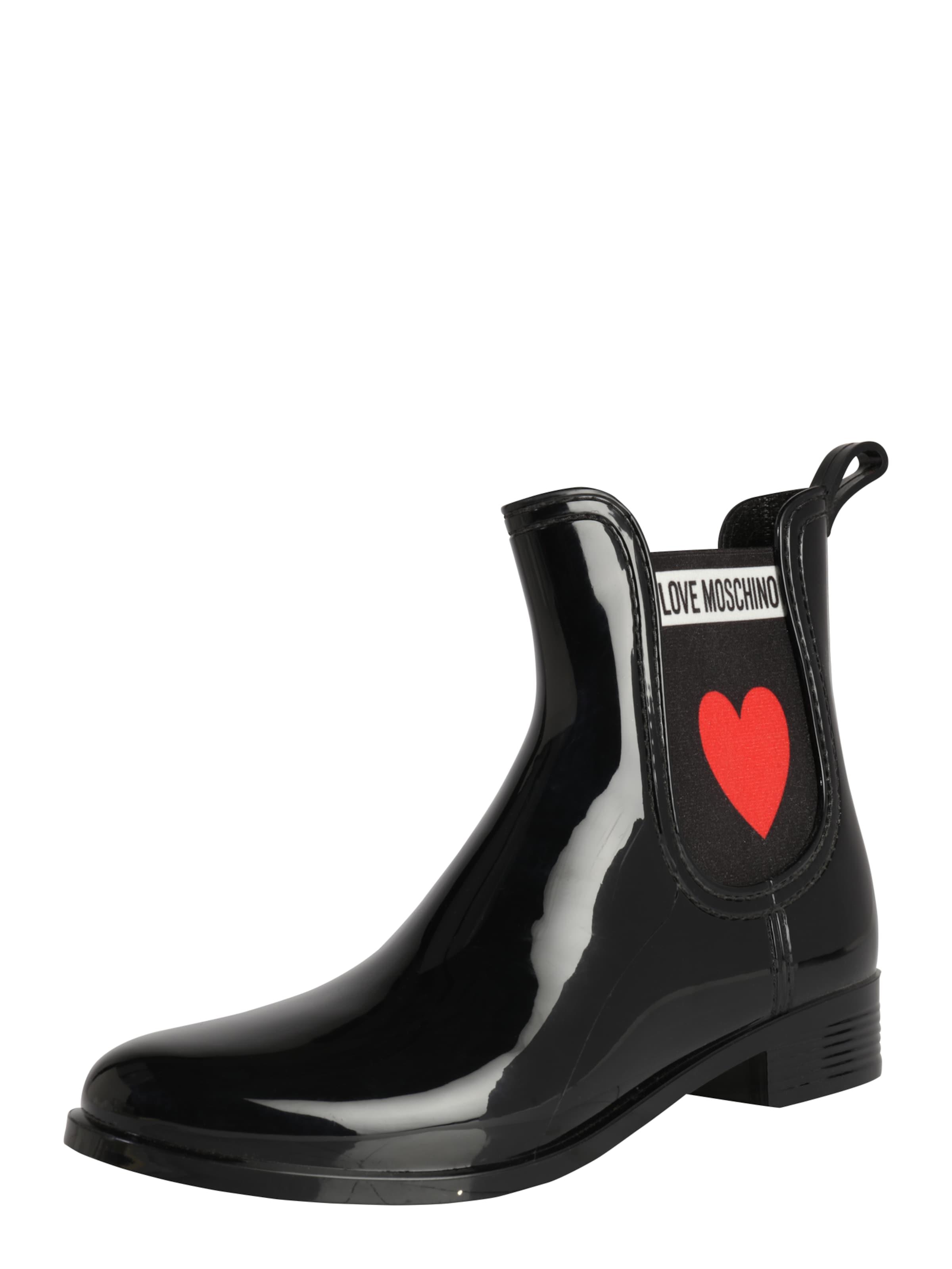 Love Moschino | Gummistiefel 'RAIN PLAIN' Schuhe Gut getragene Schuhe