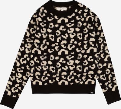 GARCIA Pullover in beige / schwarz, Produktansicht