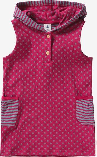 Leela COTTON Kleid in grau / pink, Produktansicht