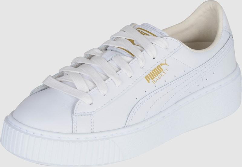 sneaker puma weiß basket