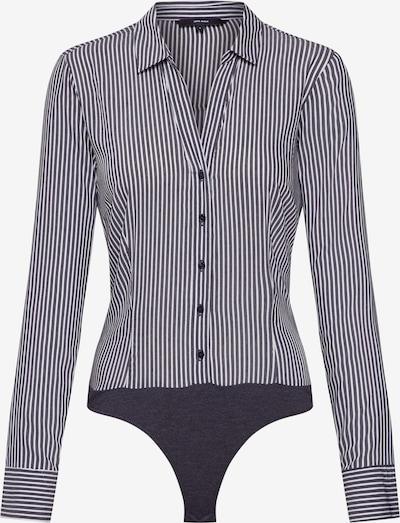 VERO MODA Bluse 'ERIKA' in schwarz / weiß, Produktansicht