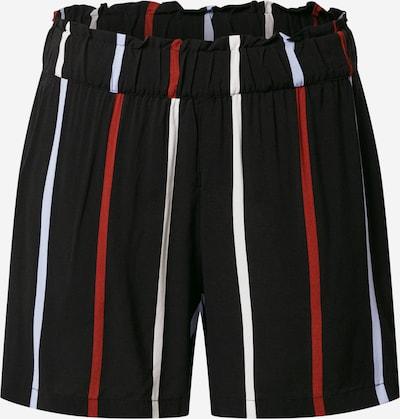 TOM TAILOR DENIM Pantalon en rouge / noir / blanc, Vue avec produit