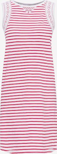 DREIMASTER Kleid in rot / weiß, Produktansicht