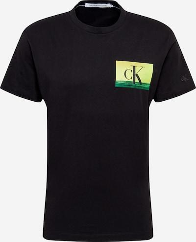 Calvin Klein Jeans Shirt in neongelb / schwarz, Produktansicht
