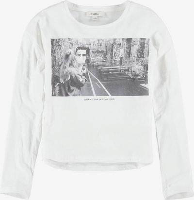 GARCIA Shirt in dunkelgrau / weiß, Produktansicht