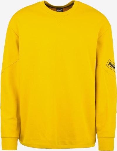PUMA Sweatshirt 'Nu-Tility' in de kleur Geel / Zwart, Productweergave