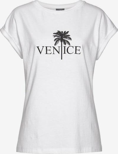 VENICE BEACH LASCANA Rundhalsshirt in weiß, Produktansicht