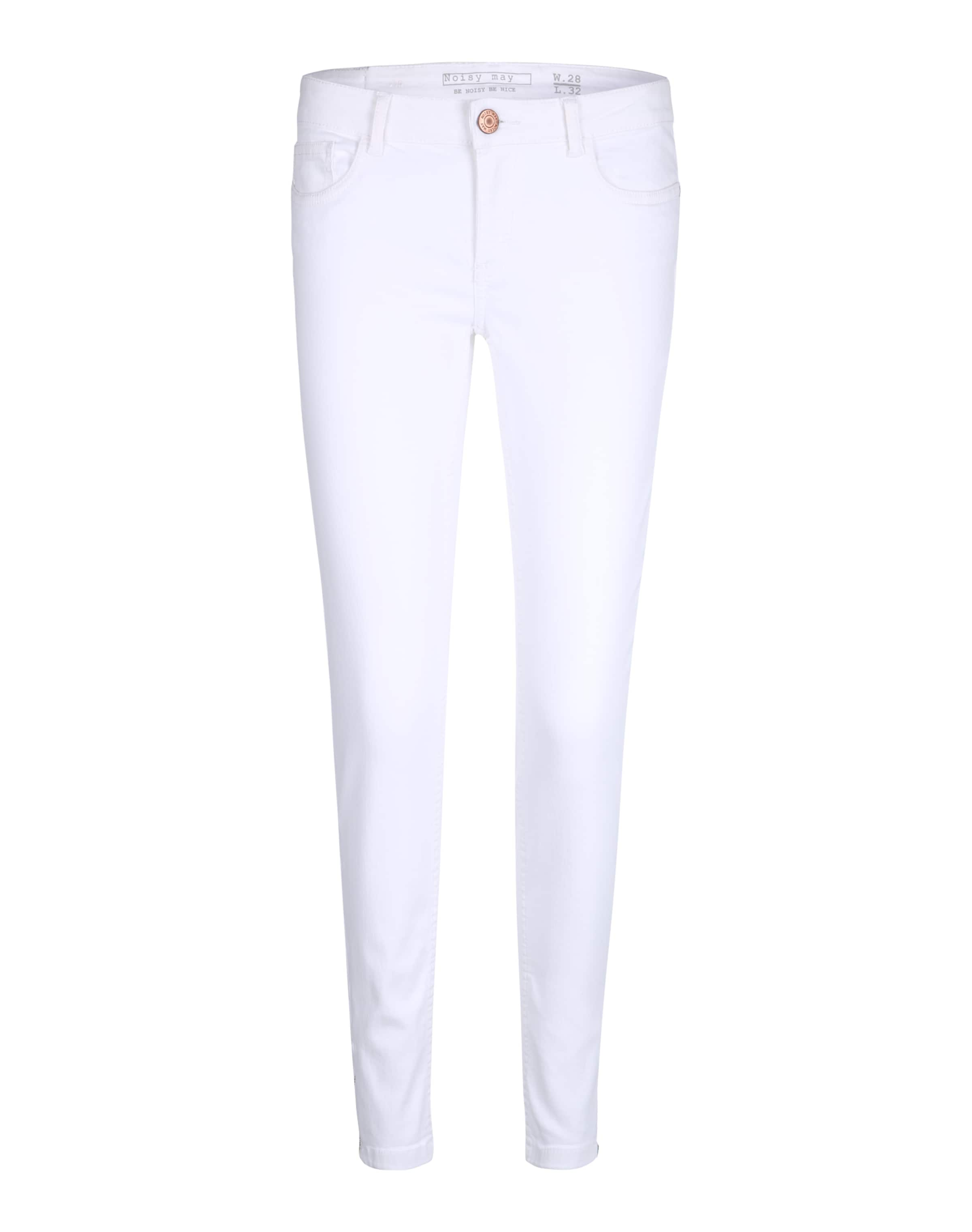 Noisy In Weiß May 'nmeve' Jeans Skinny 4qcRAS5L3j
