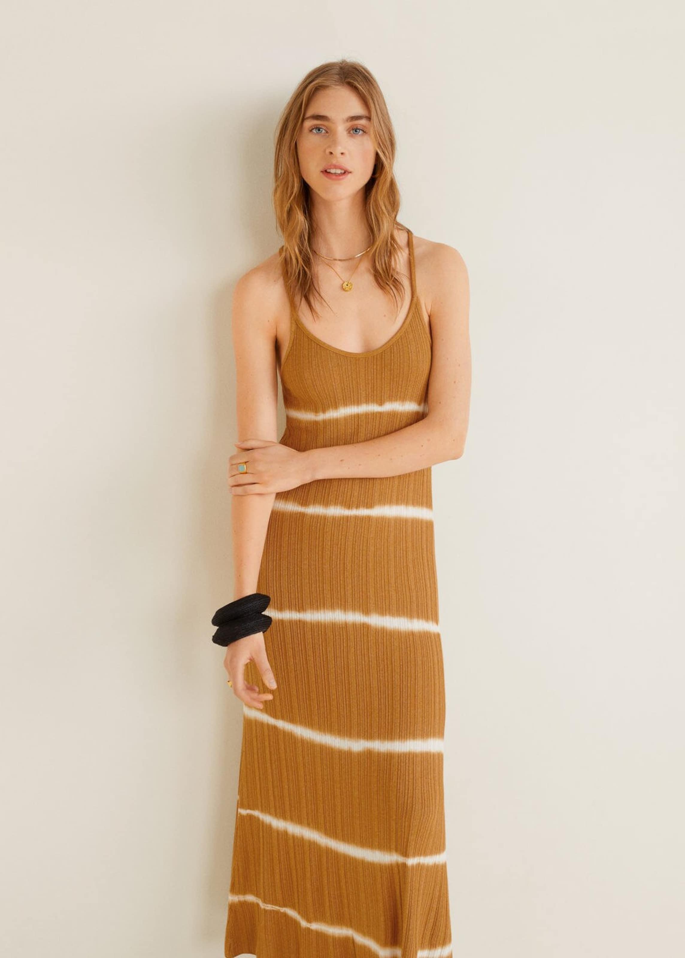 Kleid Kleid Mango In 'joplin' KaramellWeiß Kleid 'joplin' Mango KaramellWeiß In Mango 'joplin' vny0OPw8mN