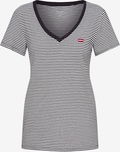 LEVI'S Majica u crna / bijela, Pregled proizvoda