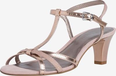 TAMARIS Sandalette in gold, Produktansicht