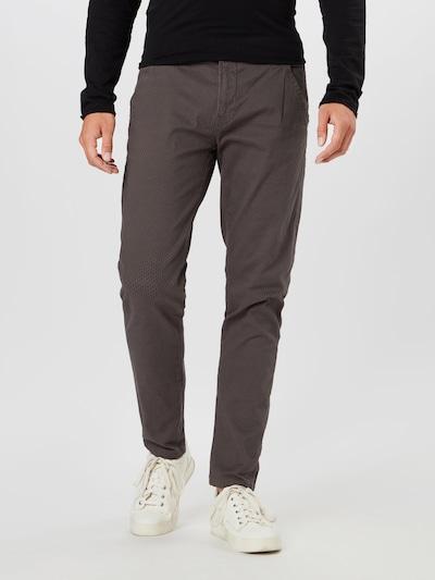Chino stiliaus kelnės iš Lindbergh , spalva - tamsiai pilka, Modelio vaizdas