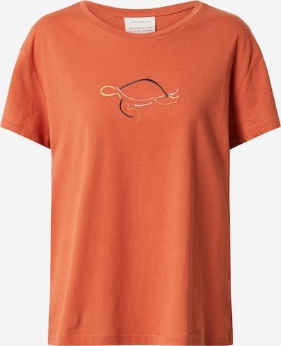 ARMEDANGELS Shirt 'NELAA' in mischfarben / orange, Produktansicht