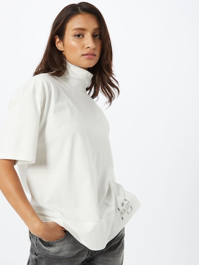 G-Star RAW T-shirt en blanc: Vue de face